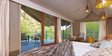 Namibia Omaruru Erongo Wilderness Lodge Zeltunterkunft Iwanowskis Reisen - afrika.de