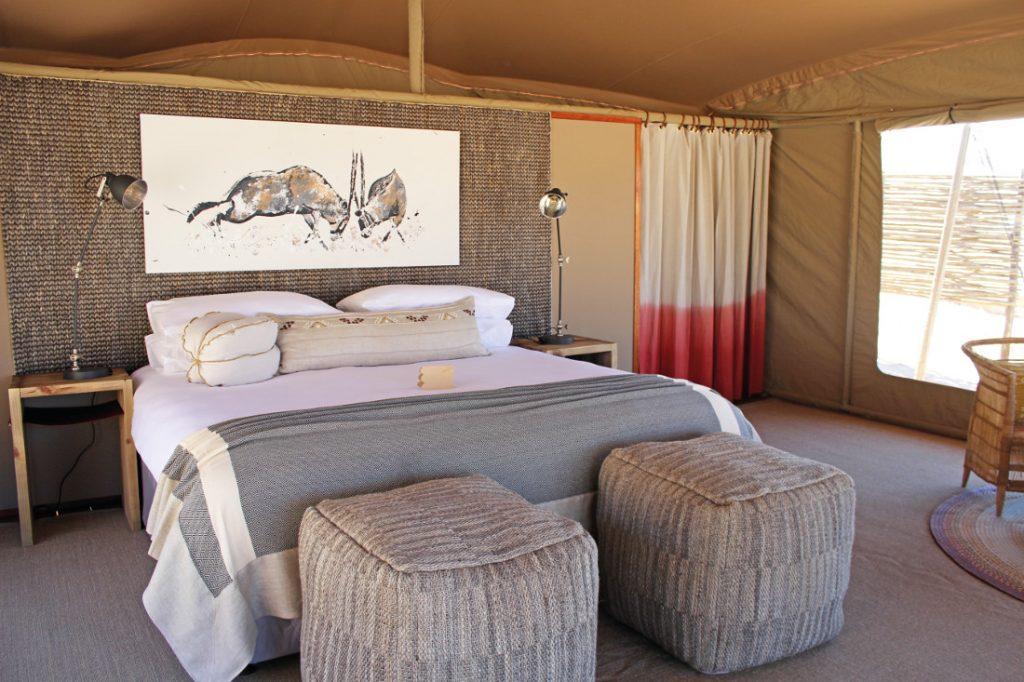 Namibia Kaokoland Hoanib Valley Camp Zimmer Iwanowskis Reisen - afrika.de