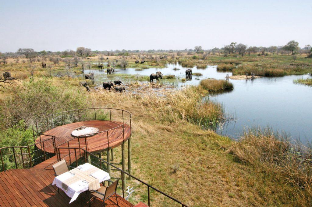 Namibia Caprivi Streifen Nkasa Lupala Tented Lodge Iwanowskis Reisen - afrika.de