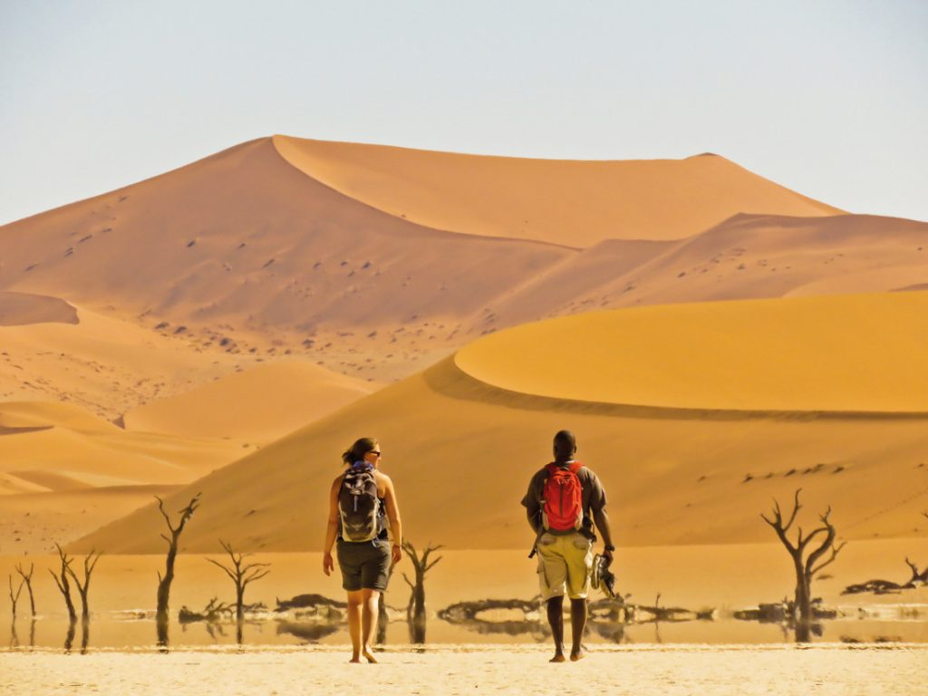 Namibia Sossusvlei Dünen Sunway Safari Iwanowskis Reisen - afrika.de
