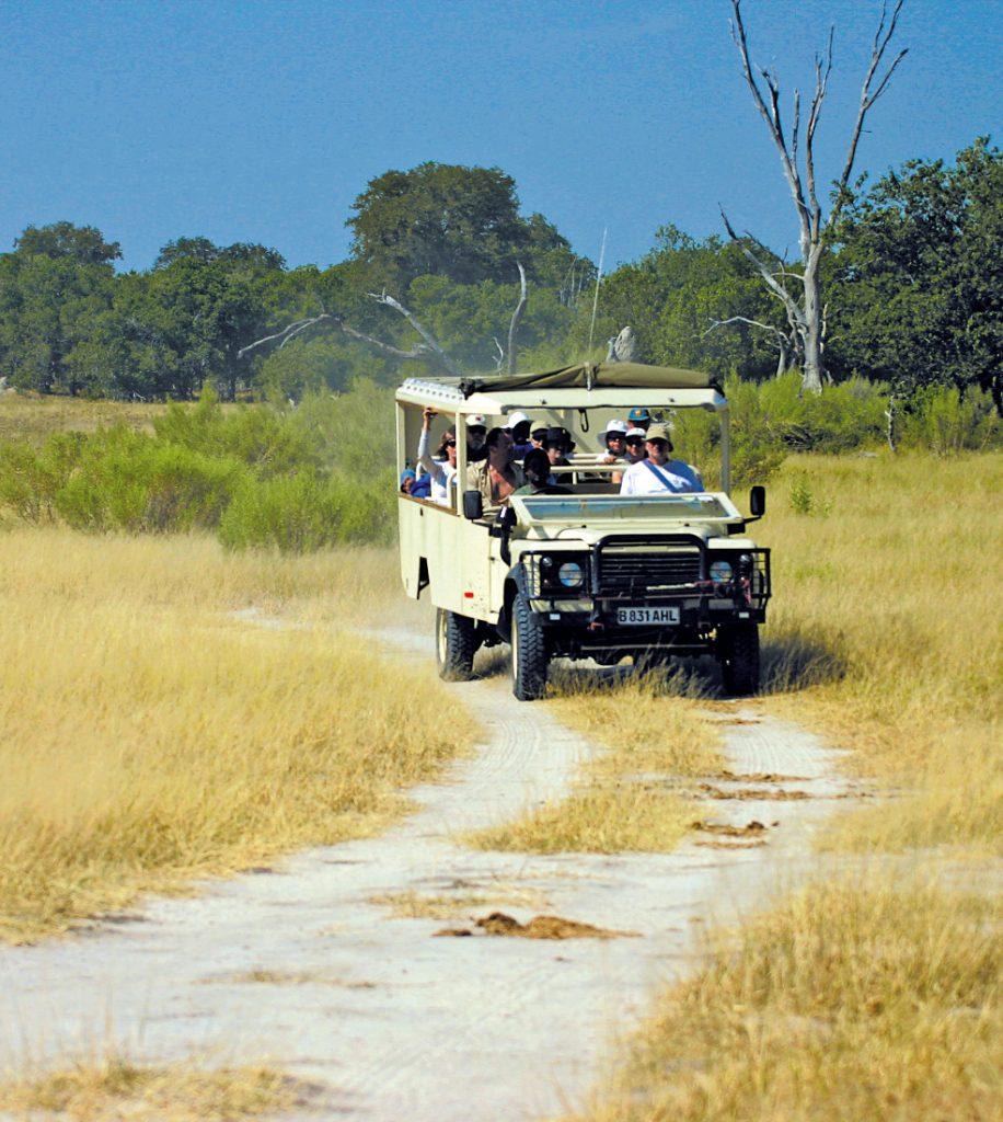 Botswana Bushways Safarifahrzeug Iwanowskis Reisen - afrika.de