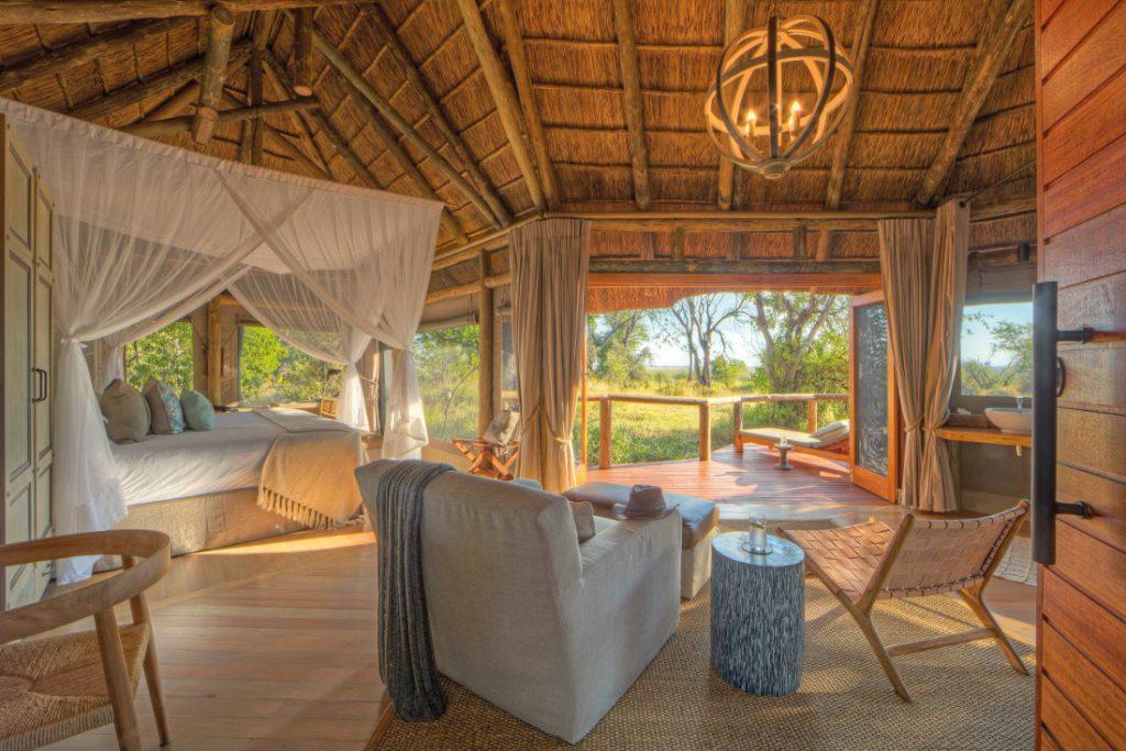 Botswana Moremi Game Reserve Camp Moremi Safarizelt Iwanowskis Reisen - afrika.de