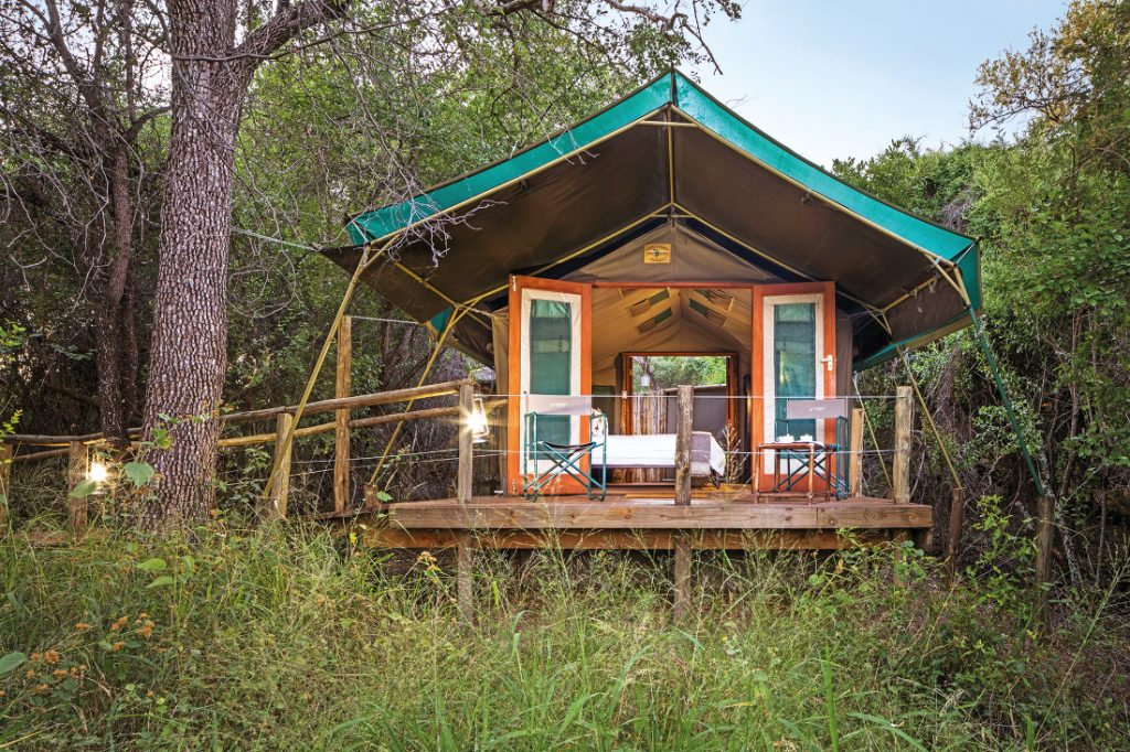 Botswana Mashatu Game Reserve Tented Camp Iwanowskis Reisen - afrika.de