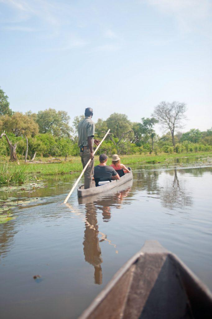 Botswana Khwai River Mokorofahrt Iwanowskis Reisen - afrika.de