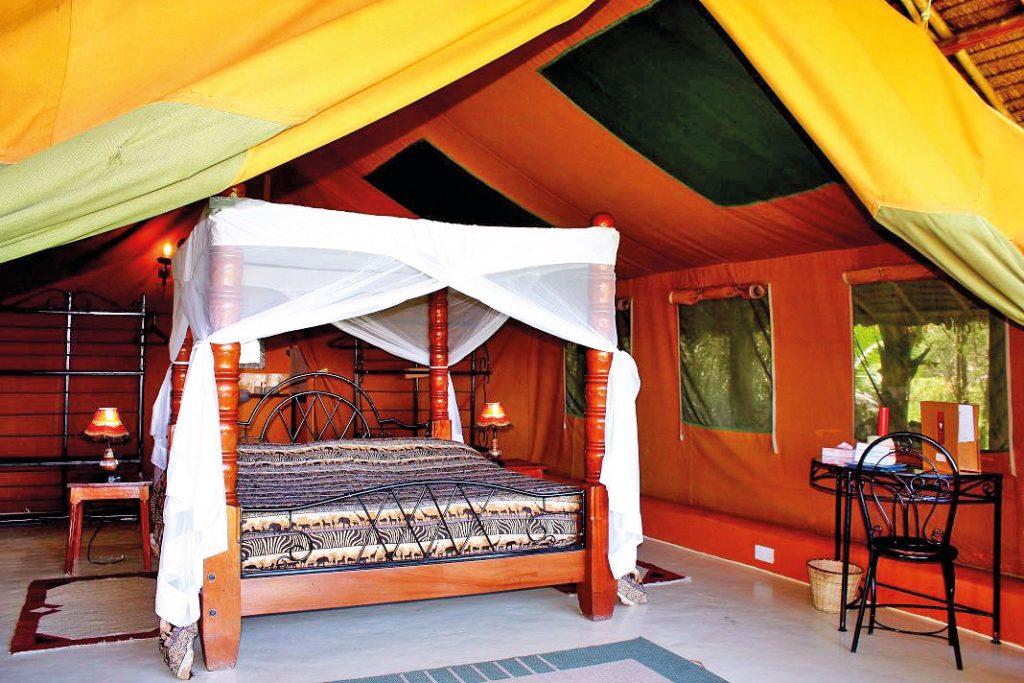 Kenia Lake Nakuru National Park Flamingo Hill Camp Zeltunterkunft Iwanowskis Reisen - afrika.de