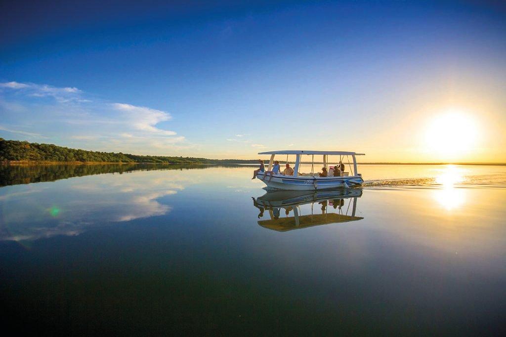 Mosambik Massingir Stausee Covane Community Lodge Bootsfahrt Iwanowskis Reisen - afrika.de