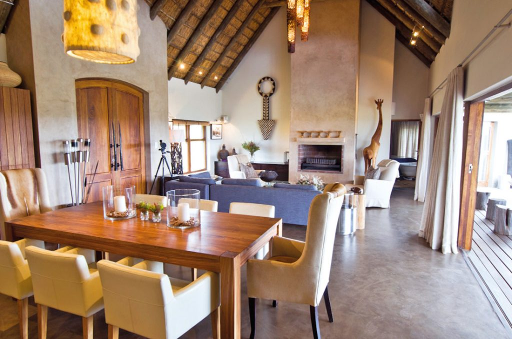 Südafrika Mossel Bay Gondwana Game Reserve Bush Villa Iwanowskis Reisen - afrika.de