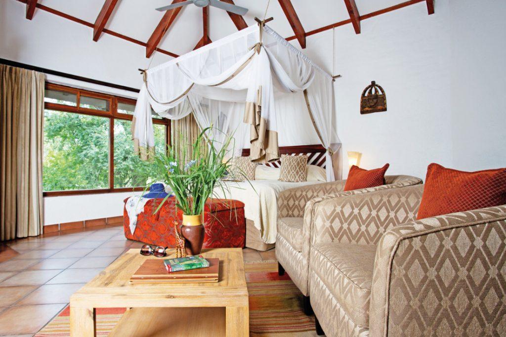 Südafrika Sabie Sands Reserve Idube Game Lodge Zimmer Iwanowskis Reisen - afrika.de