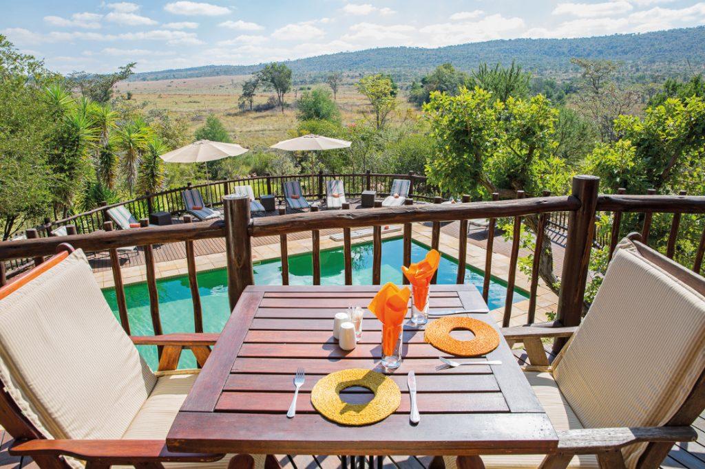 Südafrika Waterberg National Park Kololo Game Reserve Pool Iwanowskis Reisen - afrika.de