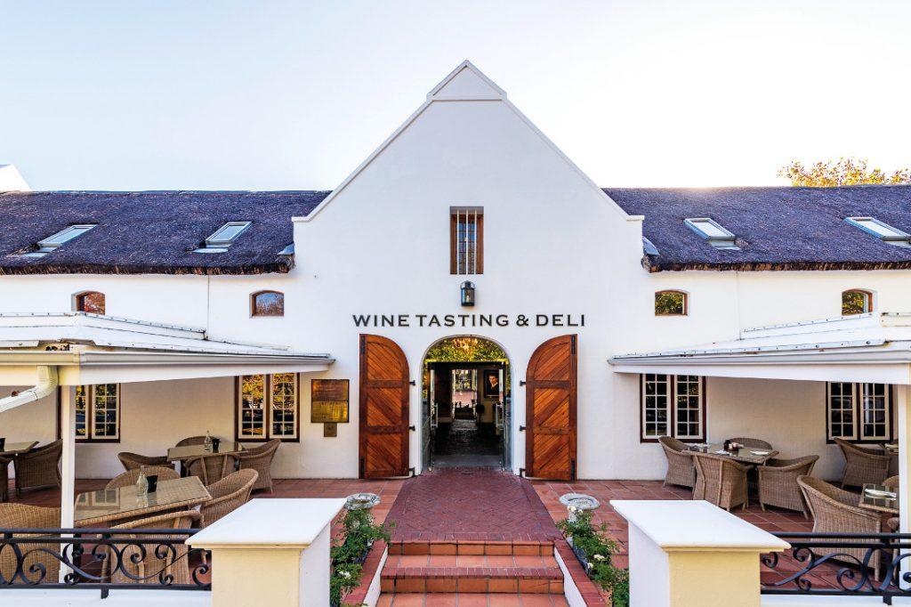 Südafrika Stellenbosch Lanzerac Wine Estate Iwanowskis Reisen - afrika.de