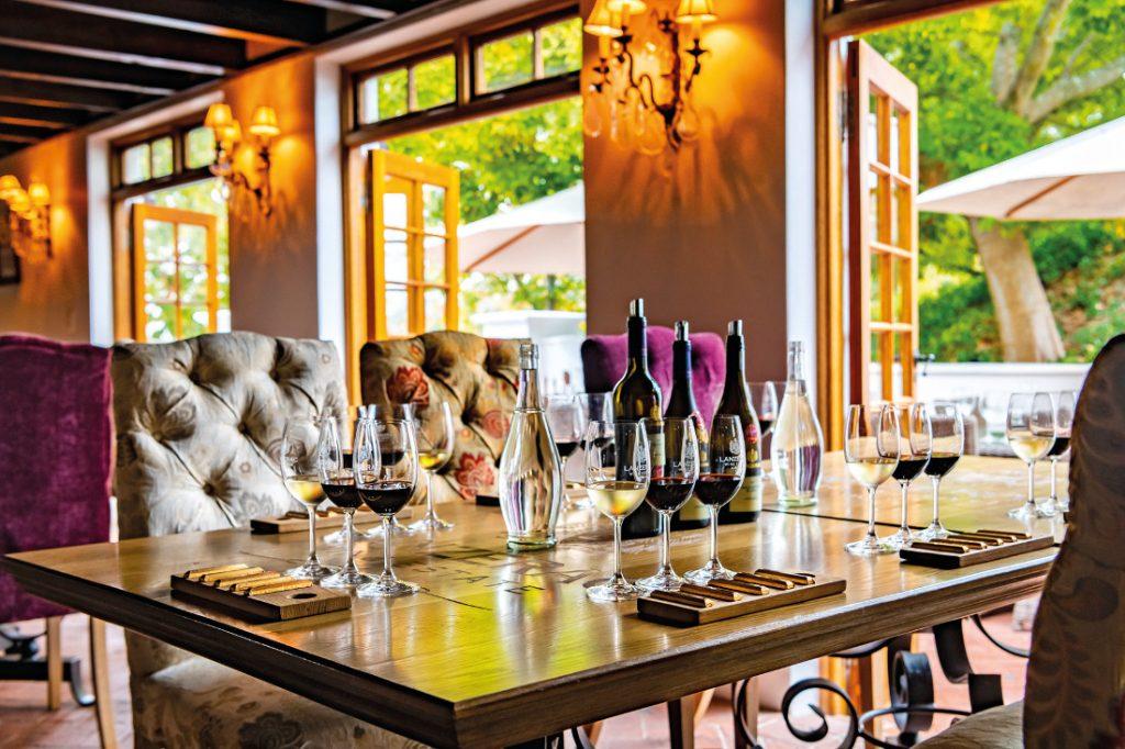 Südafrika Stellenbosch Lanzerac Wine Estate Weinprobe Iwanowskis Reisen - afrika.de