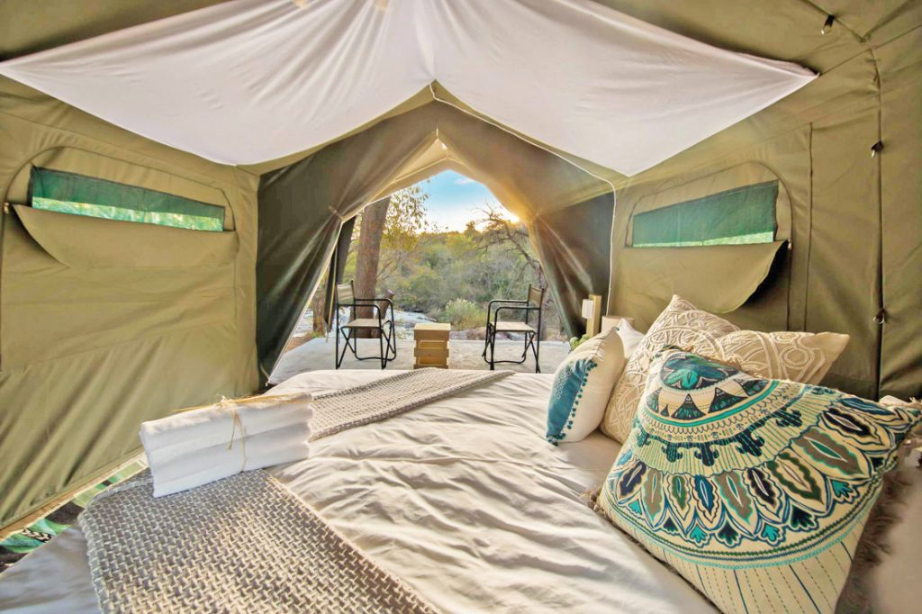 Südafrika Hazyview Lions Rock Rapids Tented Camp Zeltunterkunft Iwanowskis Reisen - afrika.de
