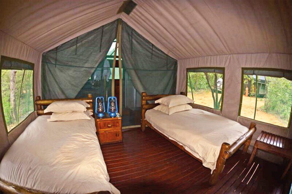 Südafrika Makuya Nature Reserve Mutale Falls Safari Camp Unterkunft Iwanowskis Reisen - afrika.de
