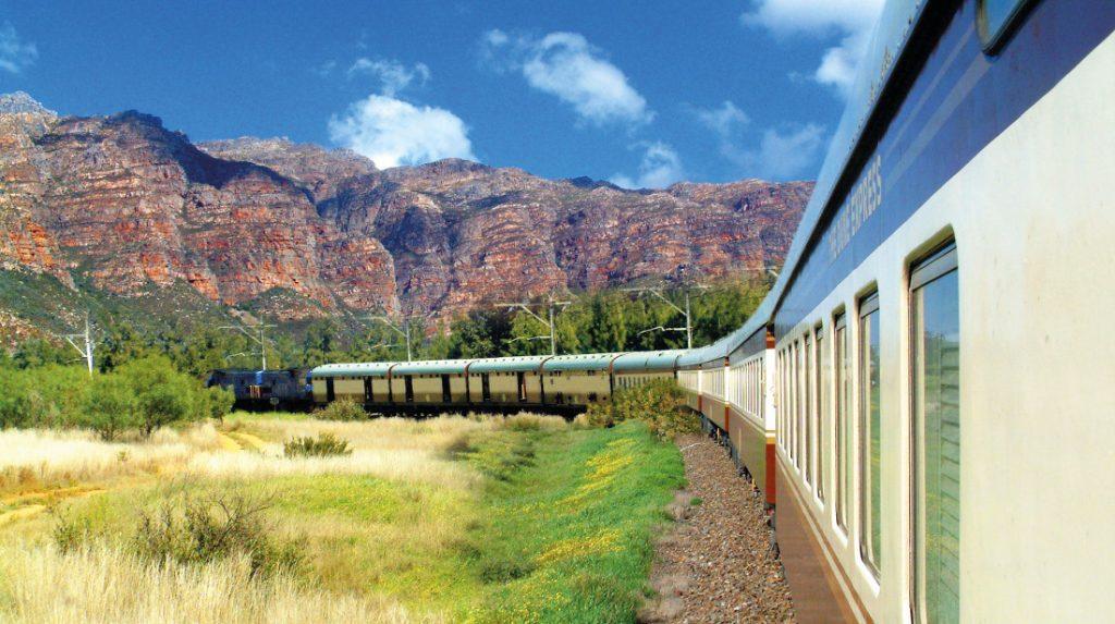 Südafrika Simbabwe Mosambik Shongololo Express Zug unterwegs Iwanowskis Reisen - afrika.de