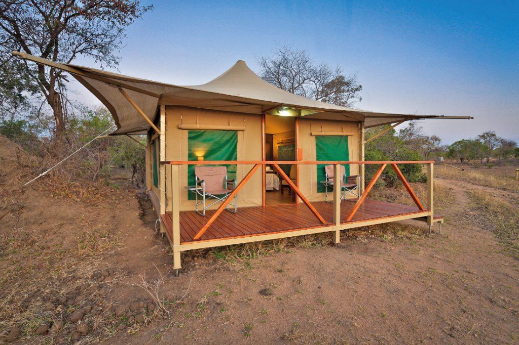 Südafrika Thornybush Private Nature Reserve Tangala Safari Camp Zeltunterkunft Iwanowskis Reisen - afrika.de