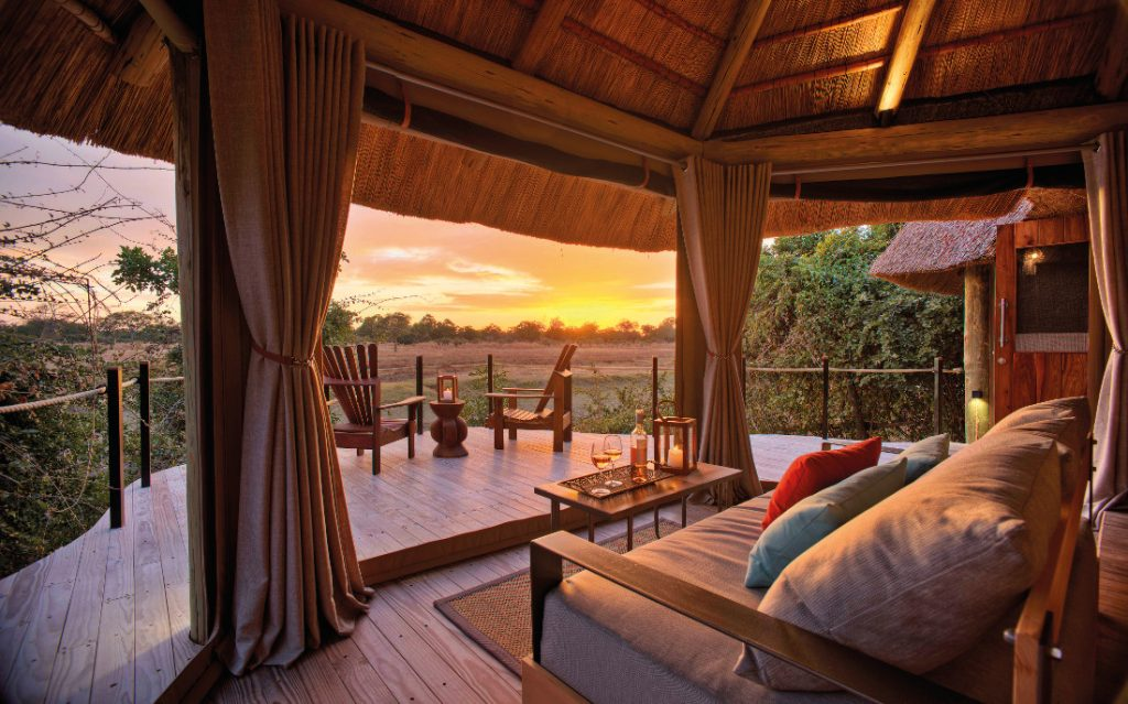 Sambia South Luangwa National Park Lion Camp Iwanowskis Reisen - afrika.de