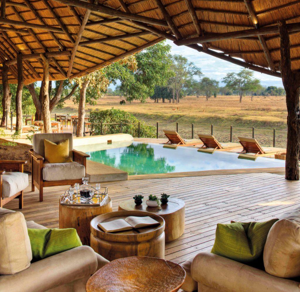 Sambia South Luangwa National Park Lion Camp Iwanowskis Reisen - afrika.de