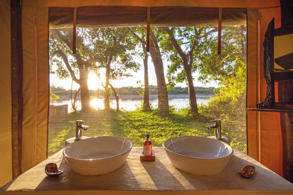 Sambia Luambe National Park Luambe Camp Ausblick Iwanowskis Reisen - afrika.de