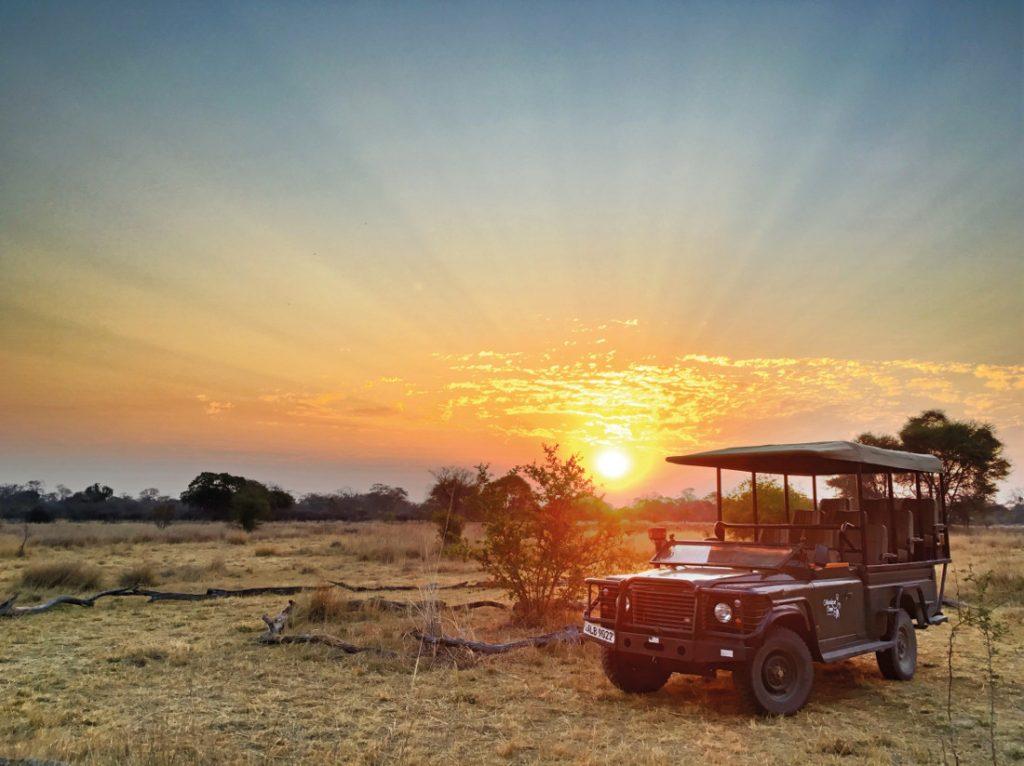 Sambia Kafue National Park Musekese Camp Sundownerfahrt Iwanowskis Reisen - afrika.de