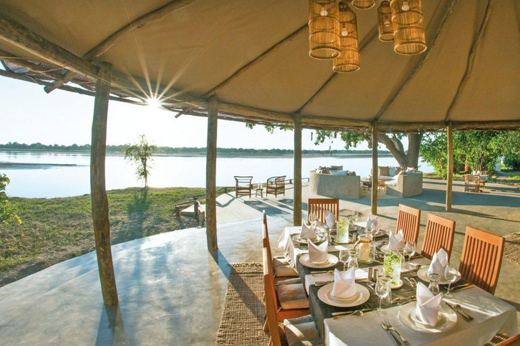 Sambia South Luangwa National Park Three Rivers Camp Iwanowskis Reisen - afrika.de