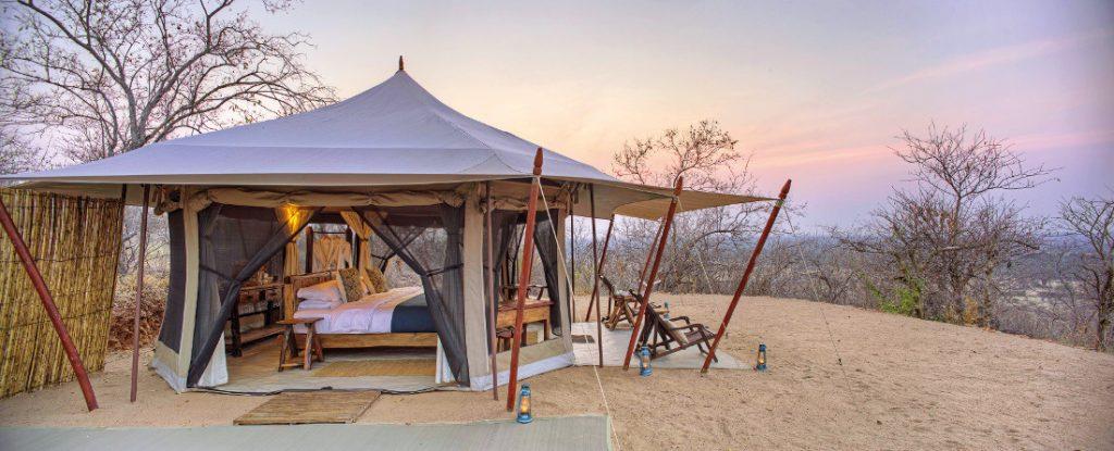 Tansania Ruaha National Park Kichaka Base Camp Zeltunterkunft Iwanowskis Reisen - afrika.de