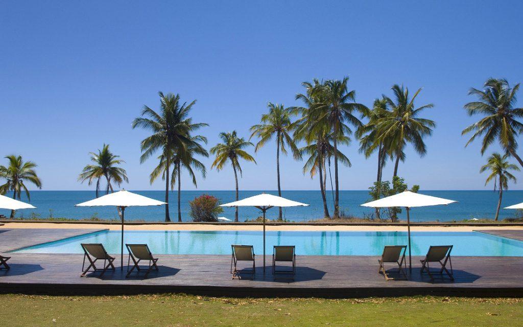 Madagaskar Anjajavy Halbinsel Lodge Naturreservat Pool Iwanowskis Reisen - afrika.de