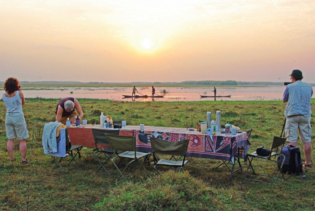 Sambia Bangweulu Swamps Camp Mokoros Iwanowskis Reisen - afrika.de