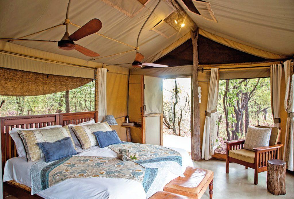 Simbabwe Matusadona Lake Kariba Changa Safari Camp Zeltunterkunft Iwanowskis Reisen - afrika.de