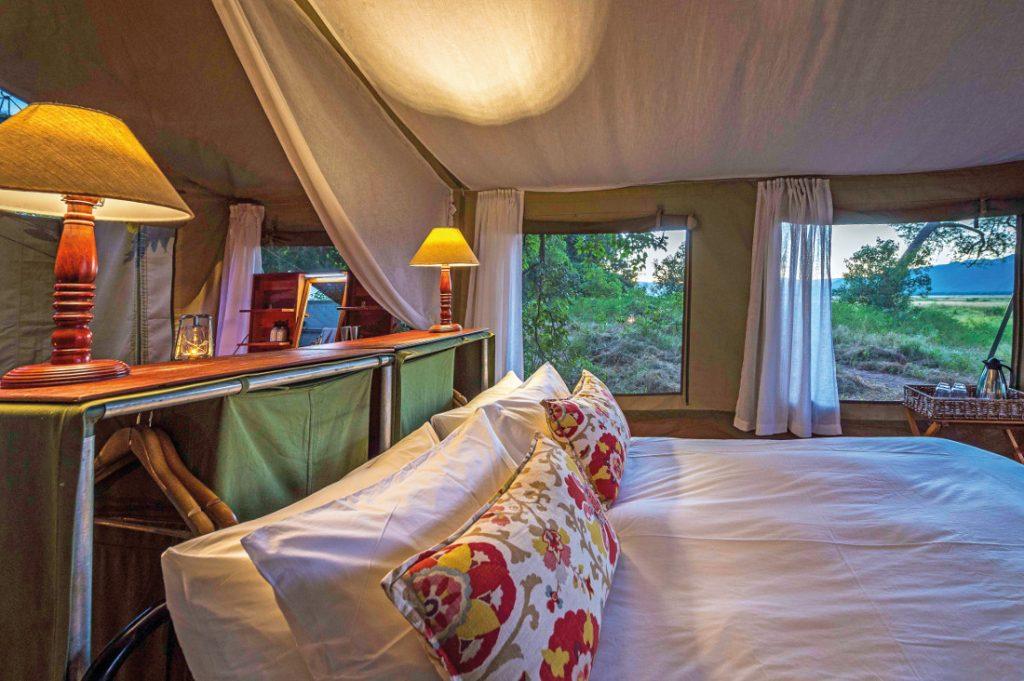 Simbabwe Mana Pools National Park John's Camp Zeltunterkunft Iwanowskis Reisen - afrika.de