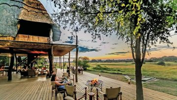 Simbabwe Hwange National Park The Hide Iwanowskis Reisen - afrika.de
