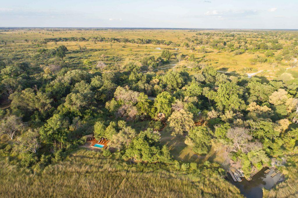 Botswana Moremi Game Reserve Camp Moremi Iwanowskis Reisen - afrika.de