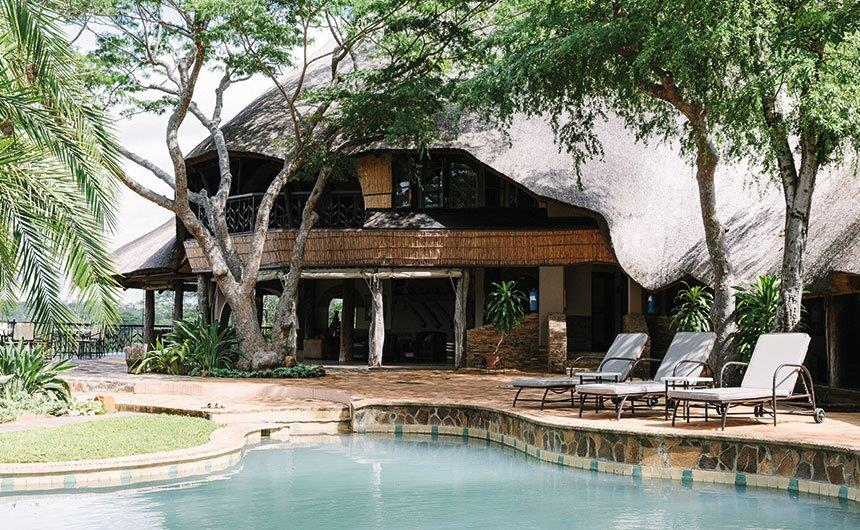 Simbabwe Gonarezhou National Park Chilojo Gorge Safari Lodge Iwanowskis Reisen - afrika.de