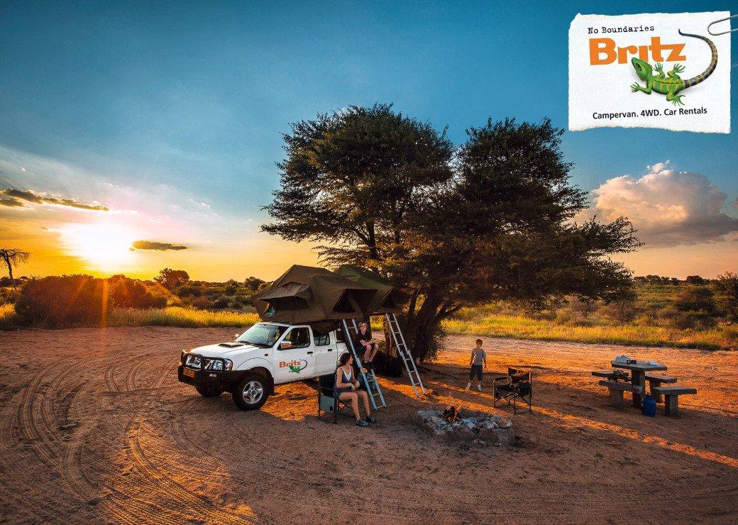Südafrika Britz 4x4 Fahrzeug Iwanowskis Reisen - afrika.de