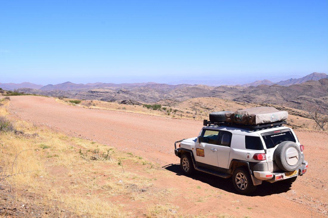Africa on Wheels Mietwagen Namibia - Iwanowskis Reisen