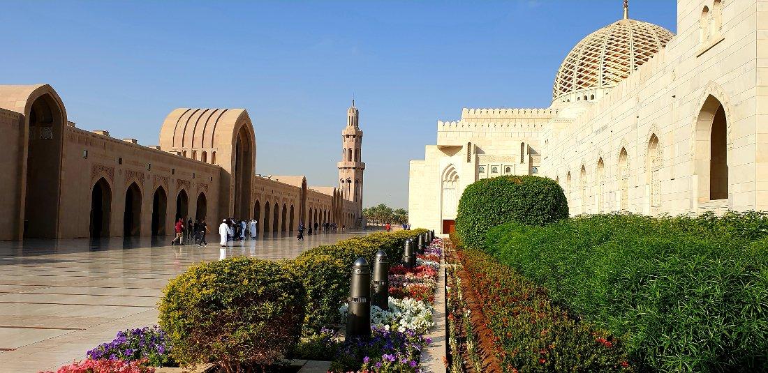 Oman Muscat Sultan Qaboos Moschee Iwanowskis Reisen - afrika.de