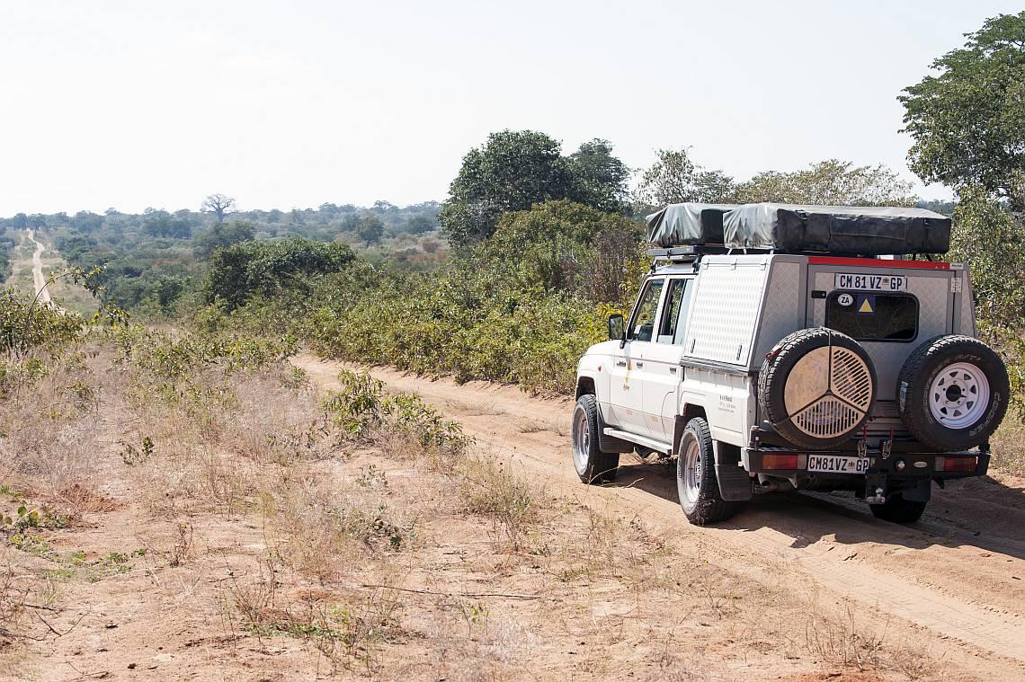 Bushlore Mietwagen in Botswana - Iwanowskis Reisen