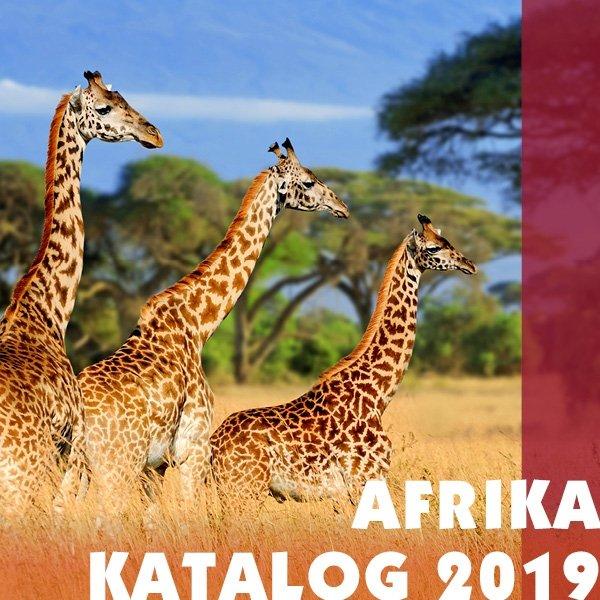Iwanowskis Afrika-Reisekatalog 2019