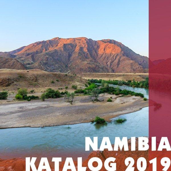 Iwanowskis Namibia-Reisekatalog 2019