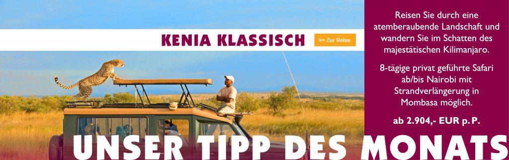 Tipp des Monats Juli - Kenia Klassisch - Iwanowskis Reisen