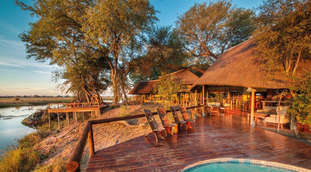 Botswana Linyanti Kwando Lagoon Camp Iwanowskis Reisen - afrika.de