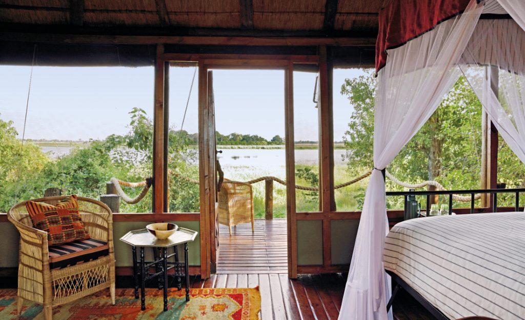 Botswana Okavango Delta Mapula Lodge Iwanowskis Reisen - afrika.de