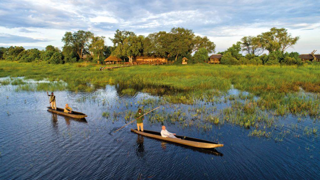 Botswana Okavango Delta Mapula Lodge Mokorofahrt Iwanowskis Reisen - afrika.de