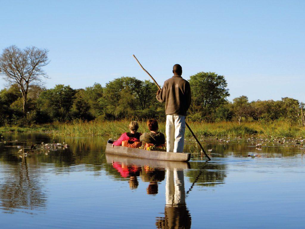Botswana Okavango Delta Mokoro Iwanowskis Reisen - afrika.de