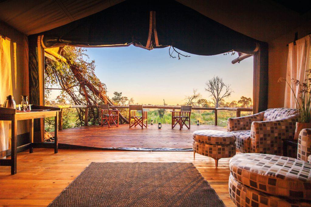 Botswana Moremi Rra Dinare Camp Iwanowskis Reisen - afrika.de