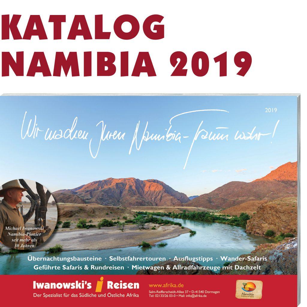 Iwanowski's Reisen Namibia-Katalog 2019