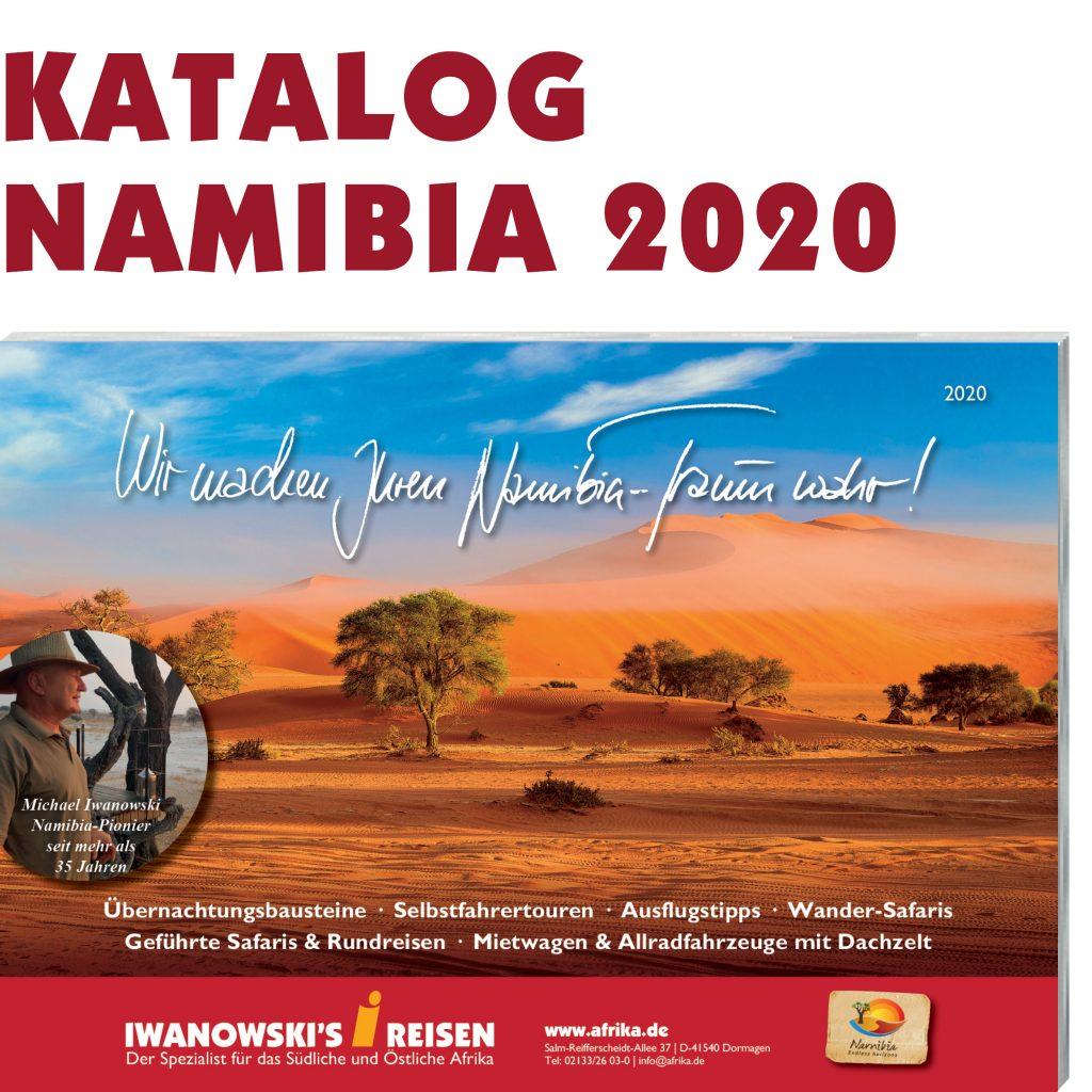 Iwanowski's Reisen Namibia-Katalog 2020