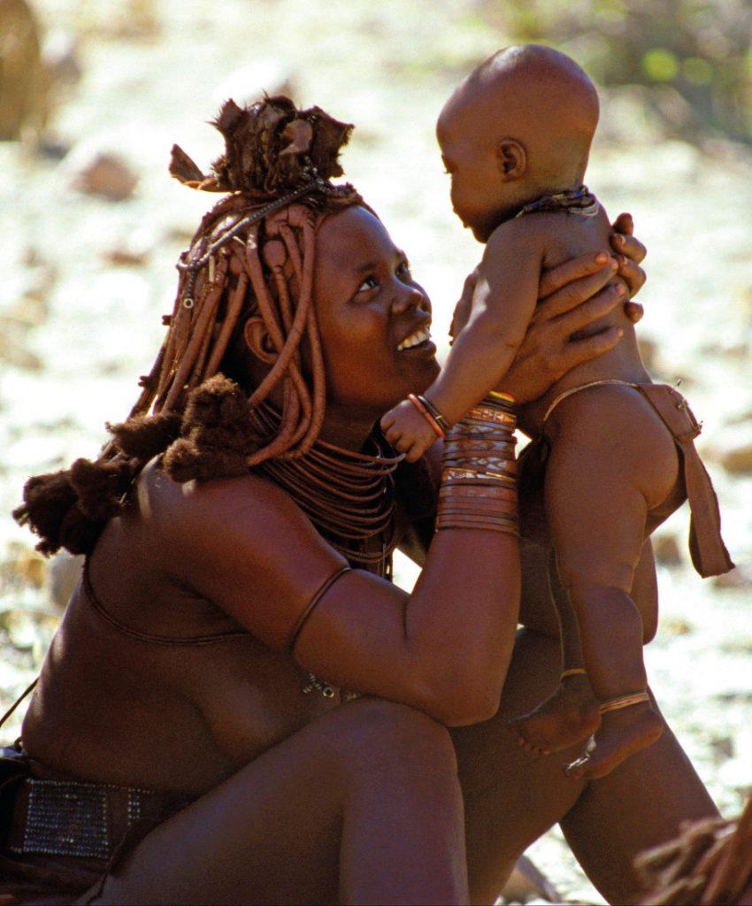 Namibia Familiensafari Himba Iwanowskis Reisen - afrika.de