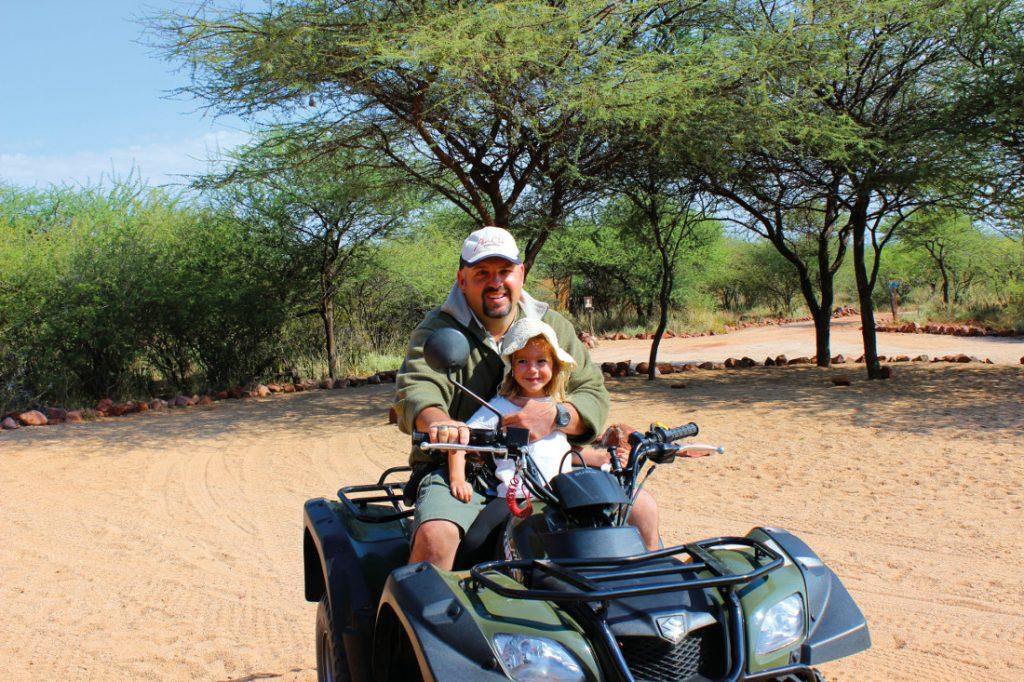 Namibia Familiensafari Quadbiking Swakopmund Iwanowskis Reisen - afrika.de