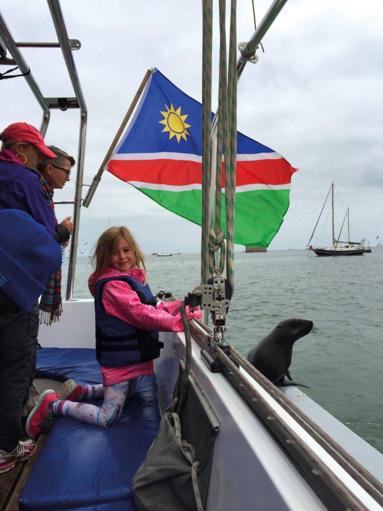 Namibia Familiensafari Swakopmund Bootsauflug Iwanowskis Reisen - afrika.de