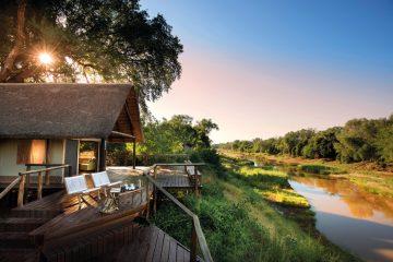 Südafrika Kruger National Park Pafuri Camp Safarizelt Iwanowskis Reisen - afrika.de